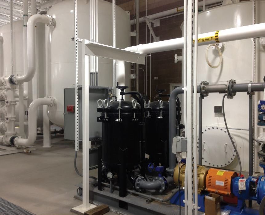Wastewater Treatment System.