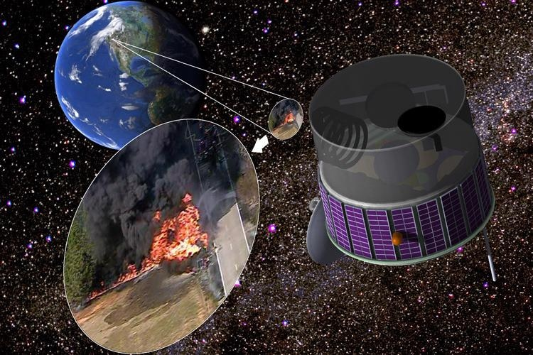 Identifying and Preventing the Spread of Wildfires from Air and Space