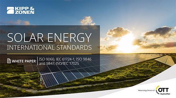 The International Standards of Solar Energy