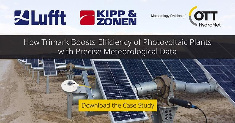 Precise Meteorological Data: Boosting the Efficiency of Photovoltaic Plants