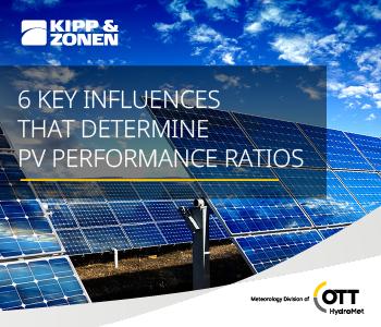 Determining PV Performance Ratios