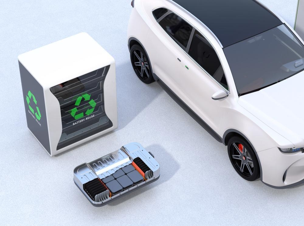 Electric Vehicle battery recycling and repurpose