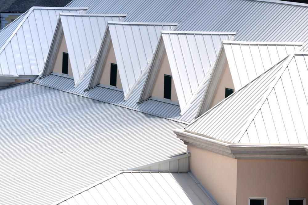 painted white roof reflect sun solar