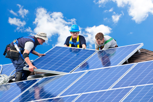 More and more people are installing solar panels to power their homes.