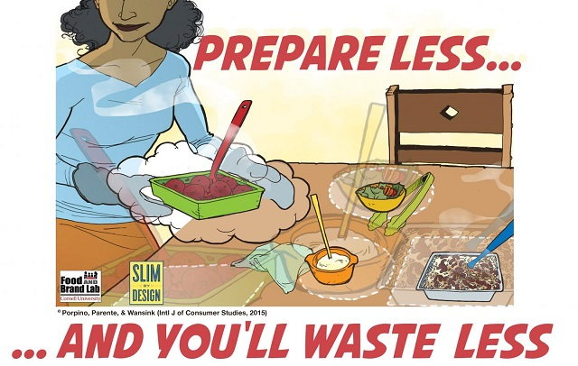 Most of the factors that lead to food waste, can be easily remedied by simple changes in food buying, preparing, and storing