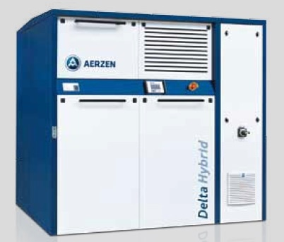 Controls the perfect operating point: advanced AERtronic packaged unit control system, when using a frequency converter