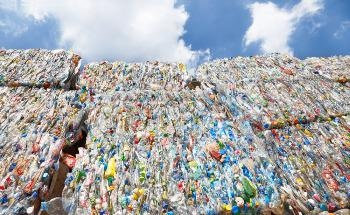 The World's First Commercial-Scale Plant for Recycling All Types of Plastic