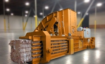 Recycling Center Baling Machines - Linear Position Sensors