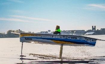 Using Ultrasonic Sensors to Help Control Solar Boats