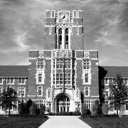 Ayres Hall - a landmark building at the University of Tennessee