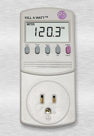 P4400 Kill A Watt Energy Consumption Monitor