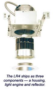 CREE LR4 LED Optical System