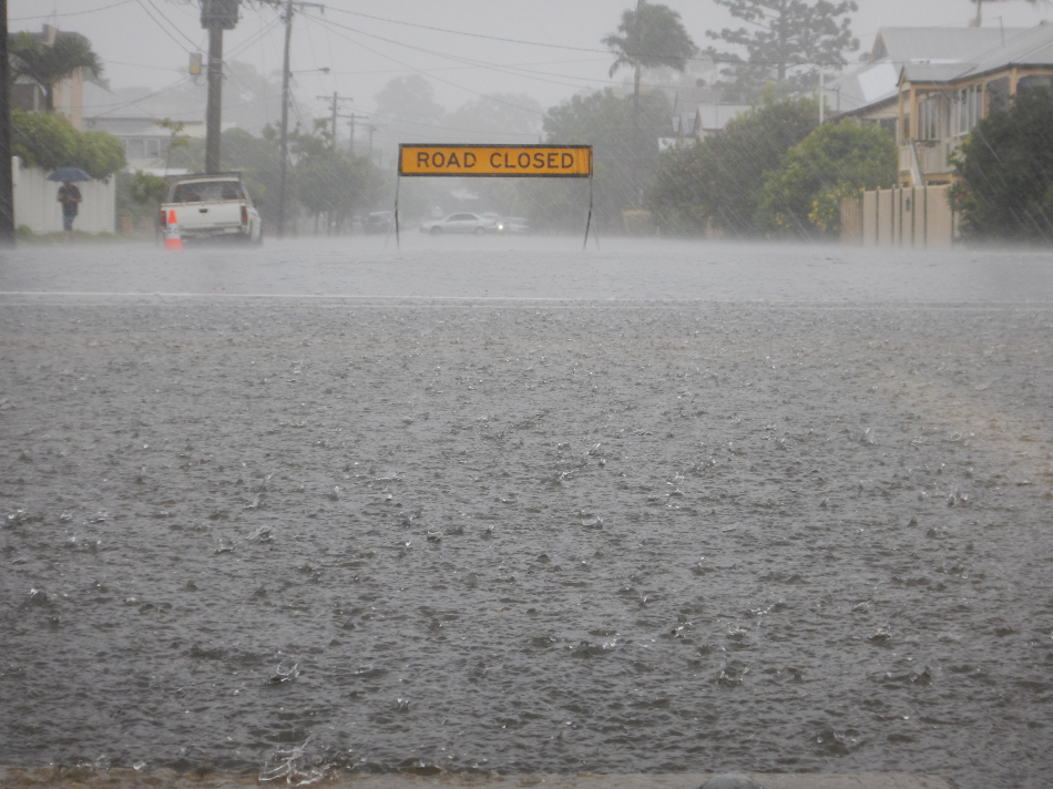 Heavy Rains in Australia