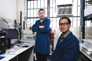 Dongguo Li, (left) and Yu Seung Kim, Los Alamos National Lab