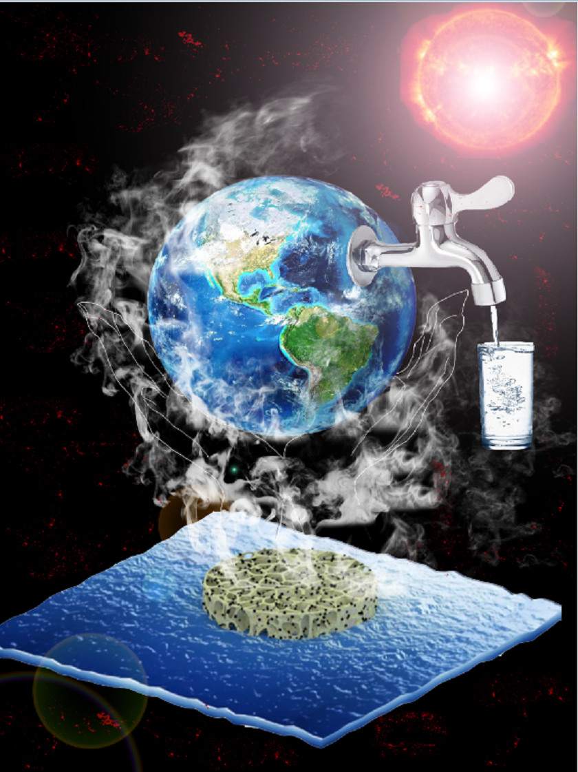 A solution to the growing clean drinking water availability problem is direct solar steam generation technology, which can remove harmful soluble pollutants from water.
