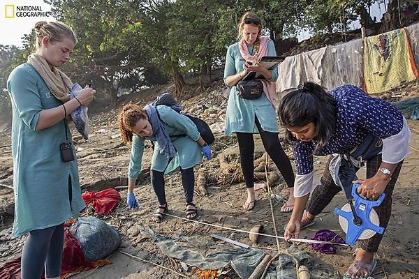 Study Investigates Microplastic Abundance, Characteristics Along the Ganges