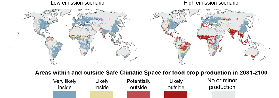 Climate Change can Impact One-Third of Current Global Food Production