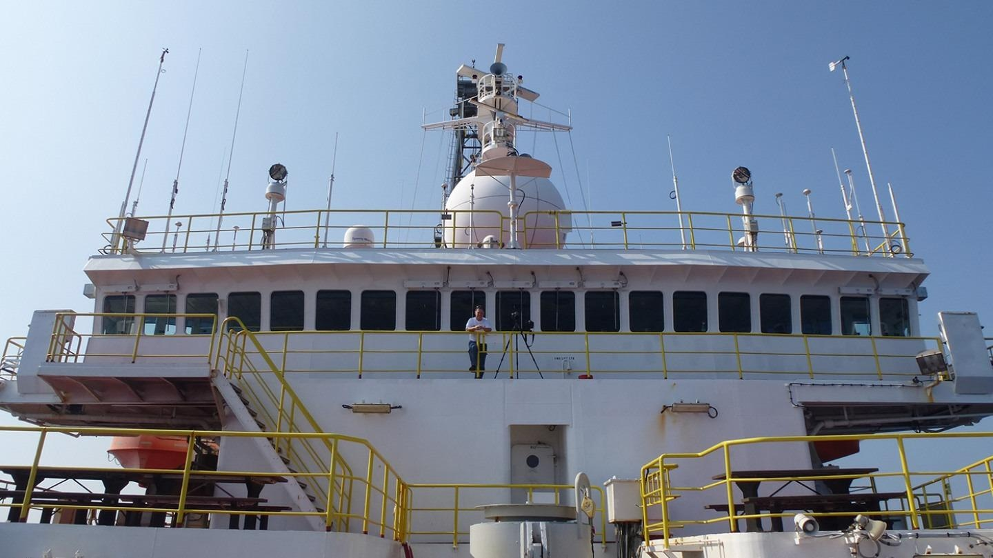 The research vessel JOIDES resolution sailed to the Bay of Bengal in 2015 to collecting sediment cores that hold data on monsoon rainfall spanning millions of years.