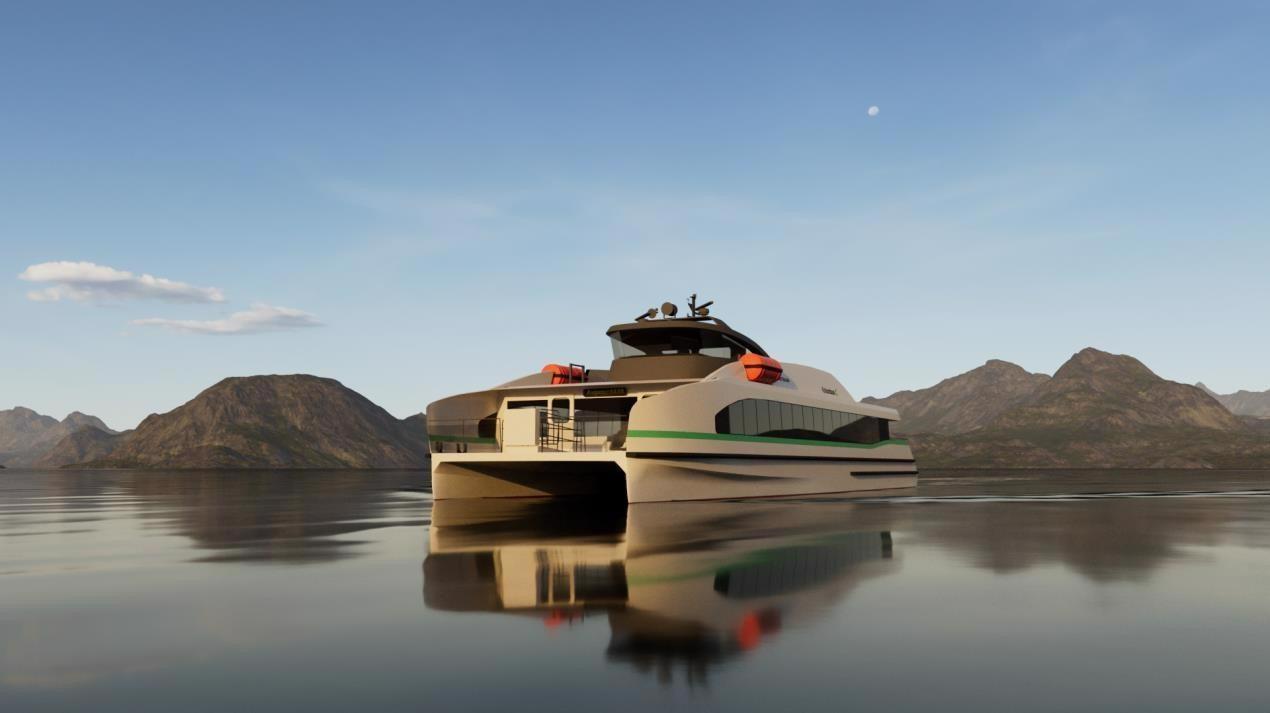 Construction Kicks off on World's First Zero-Emission Fast Ferry