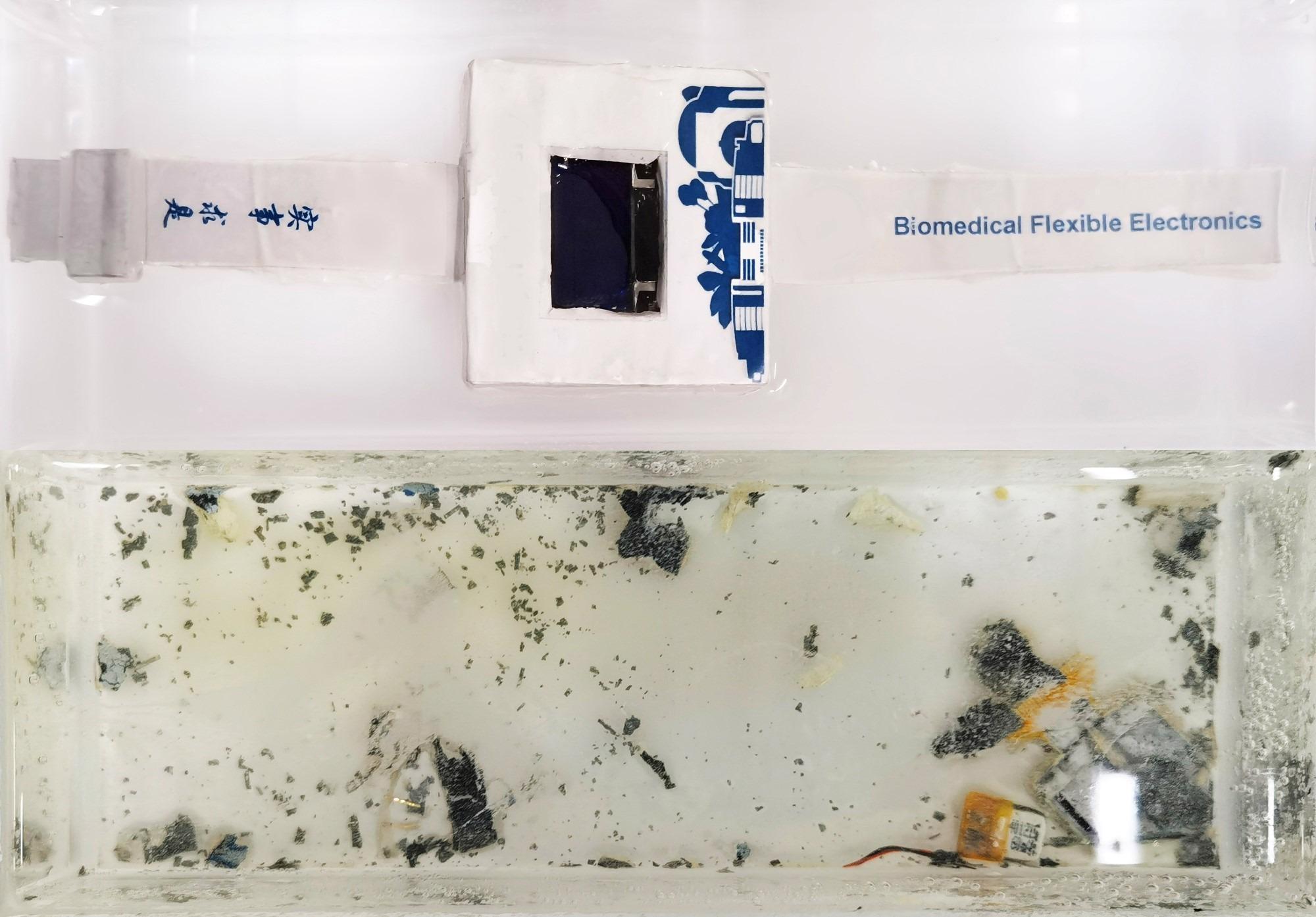 Researchers Develop Dissolvable Electronics to Combat E-Waste Menace.