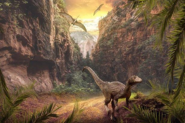 Ecological Changes Due to Intense Volcanic Activity Led to Dinosaur Dominance.