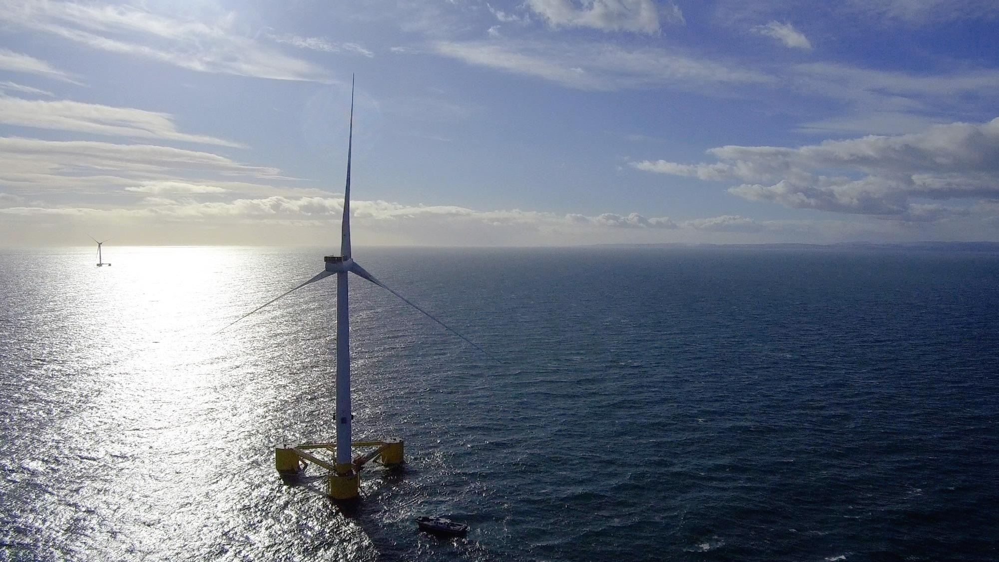 The World's Largest Floating Windfarm is Now Fully Commissioned and Delivering Green Electricity to Scotland's Grid