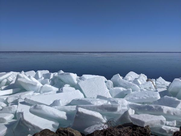Northern Hemisphere Lakes may be Approaching a Tipping Point to Ice-Free Conditions