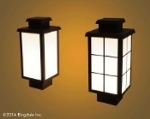 Ringdale Launches its New LED Exterior Luminary, the ActiveLED Horseshoe Bay Lantern