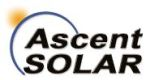 Vanguard Selects Ascent Solar's Flexible Lightweight PV Modules for Additional SBIR Programs