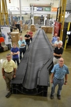 First 3D-printed Turbine-Blade Mold Fetches Sandia Technology Focus Award