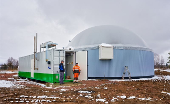 Filling Up with Biogas at the Vuorenmaa Dairy Farm