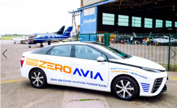 Zeroavia Takes on a Toyota Mirai to Help with Ground Operations for Its Zero Emission Aviation Drive