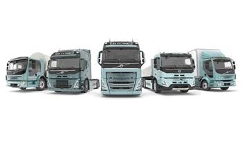 Volvo Trucks Launches a Complete Range of Electric Trucks Starting in Europe in 2021