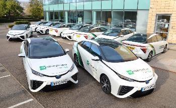 Enterprise Adds 17 Toyota Mirai Hydrogen Cars to UK Fleet