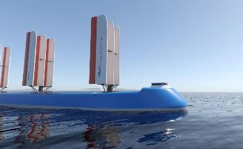 Windship Technology Powers First True Zero Emission Ship Design with High Performance Rig Technology