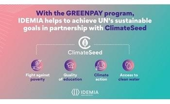 IDEMIA Collaborates With ClimateSeed to Invest in a Carbon Project in India to Offer Truly Sustainable Payment Cards