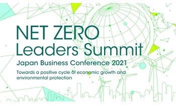 CORRECTING and REPLACING NET ZERO Leaders Summit (Japan Business Conference 2021)