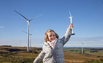 Muirhall Energy Unveils the UK's Largest Subsidy-Free Onshore Development at Newly-Completed Crossdykes Wind Farm